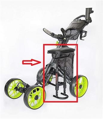 Caddytek Seat One Golf Push Cart Seat Golf Cart Seat