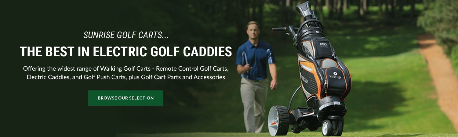 Remote Control Golf Carts & Electric Trolleys Online on